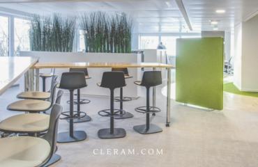 CréditPhotos©Cléram - Digitalisation - flex-office- aménagement- bureau-entreprise-architecte-paris