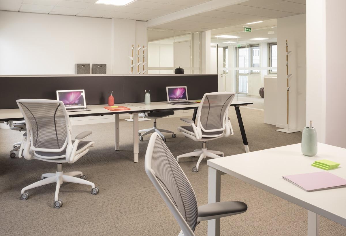 aménagement de bureaux pour AEW