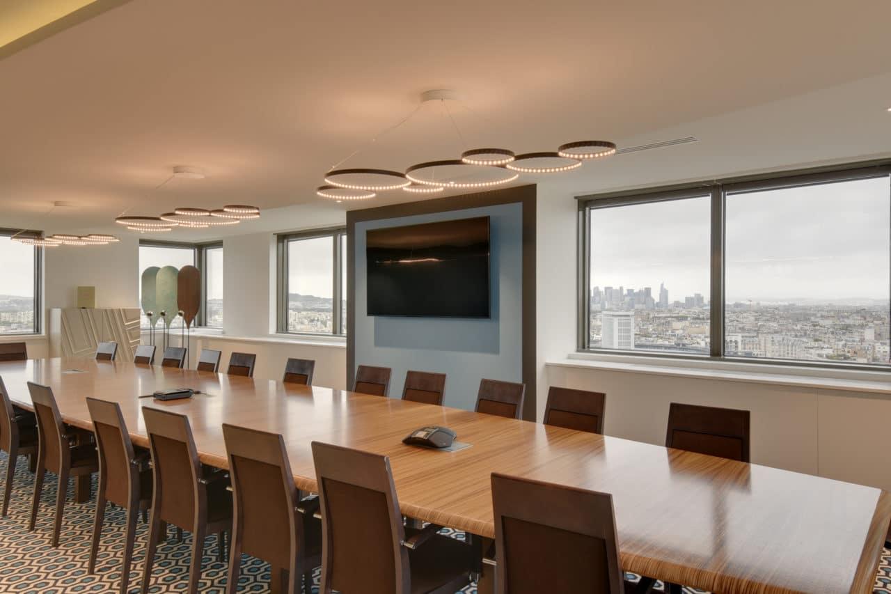 Une salle de réunion connectée conçue par Cléram - CréditPhotos©Cléram