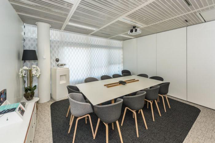 Conception des salles de réunions pour Lumiled