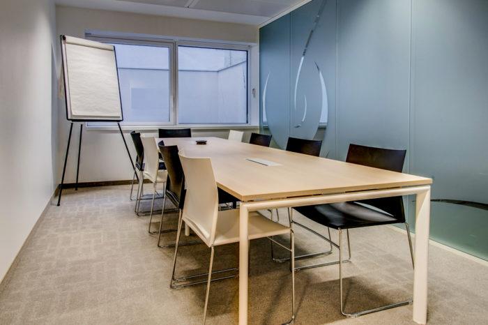 réaménagement des salles de réunion pour Nespresso