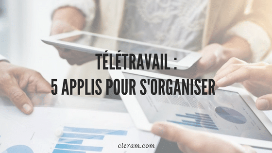Teletravail applications cleram