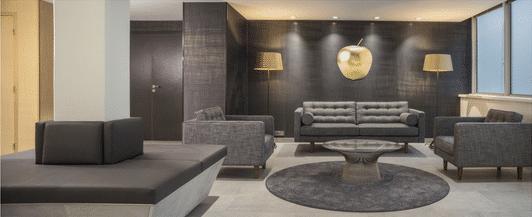 Aménagement- espace-accueil-cléram-aew-paris-levallois-mobilier