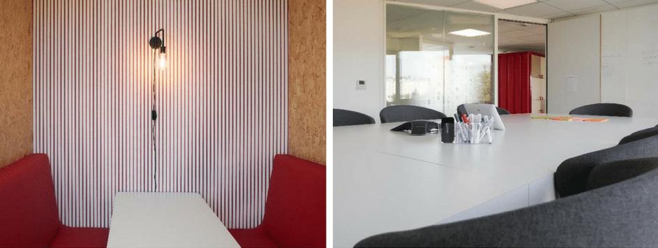 Espaces de réunions formels et informels chez Helevtia -